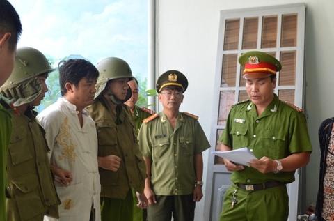 Nhom giang ho o Vung Tau phan lo ban nen dat nha nuoc hinh anh