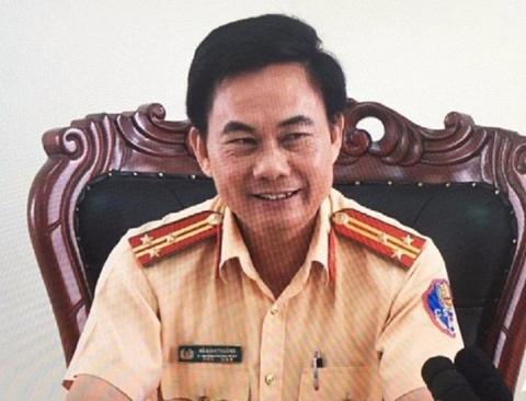 Duong thang tien cua ong Vo Dinh Thuong, Pho phong CSGT Dong Nai hinh anh