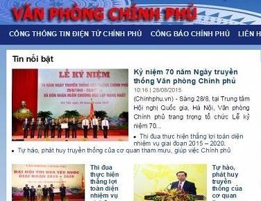 Van phong Chinh phu dang bi mao danh hinh anh