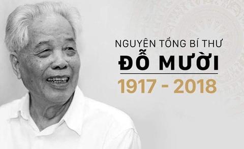 Quoc tang nguyen Tong bi thu Do Muoi trong 2 ngay hinh anh