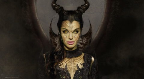 Nhung tao hinh Maleficent chua tung cong bo hinh anh