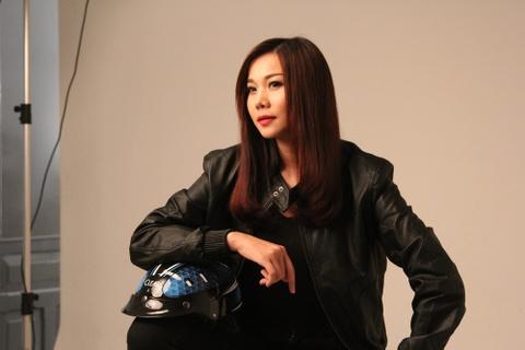 Thanh Hang thu hut voi hinh tuong 'chuan men' hinh anh