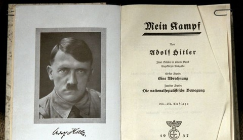 Cuon sach cua Hitler lai gay tranh cai hinh anh