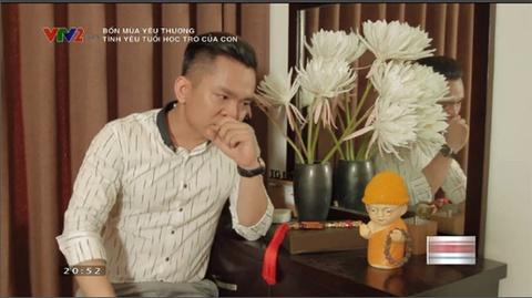 Hanh Phuc khoc khi noi ve quang thoi gian kho khan khi biet minh bi ung thu mau trong chuong trinh Bon mua yeu thuong. hinh anh