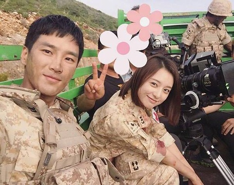 Kim Ji Won khong muon bi so sanh voi Song Hye Kyo hinh anh