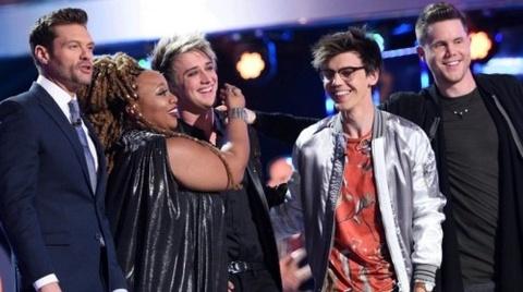 Lo dien 3 thi sinh vao chung ket American Idol mua cuoi hinh anh