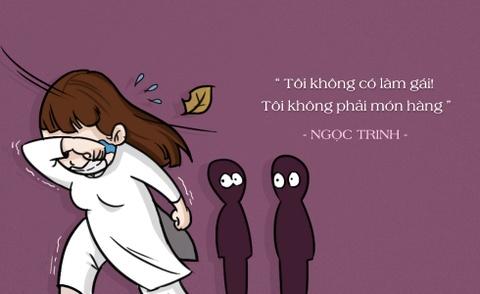 Hi hoa phat ngon kho quen cua Ngoc Trinh tu 'Vong eo 56' hinh anh 5