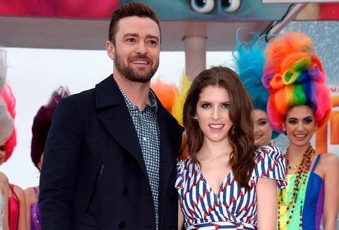 Justin Timberlake song ca cung Anna Kendrick tai Cannes 2016 hinh anh
