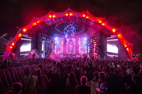 sunset music festival hinh anh