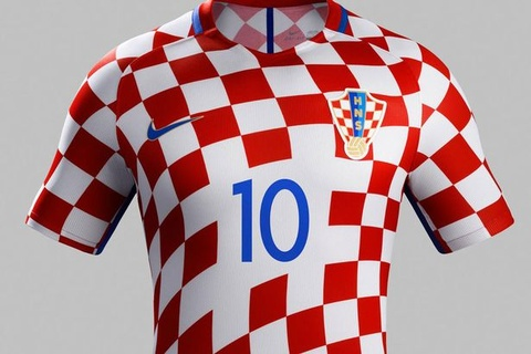 Top 10 doi tuyen co ao thi dau dep nhat Euro 2016 hinh anh 2