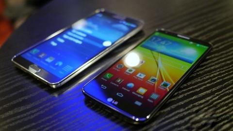 So sanh cau hinh Galaxy Note 3 voi LG G2 va Sony Xperia Z1 hinh anh