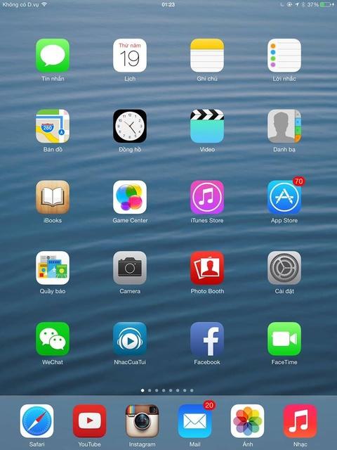 Nguoi dung iPhone, iPad o VN bat dau tai duoc iOS 7 hinh anh