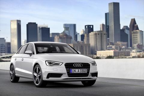Audi A3 sedan se xuat hien tai Viet Nam Motor Show 2013 hinh anh