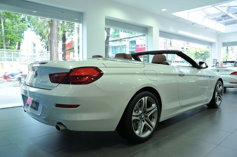 BMW 640i Convertible dau tien tai Viet Nam hinh anh