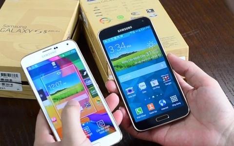 Dung thu smartphone man hinh 2K dau tien cua Samsung tai VN hinh anh