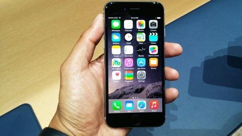 Danh gia nhanh iPhone 6 Plus: Man hinh 5,5 inch, thiet ke sieu mong hinh anh