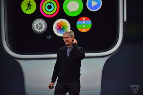 Tong hop su kien ra mat MacBook 12 inch va Apple Watch hinh anh