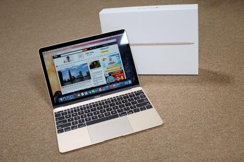 MacBook 12 inch dau tien o Sai Gon gia 36 trieu hinh anh
