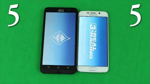 zenfone 2 so toc do galaxy s6 hinh anh