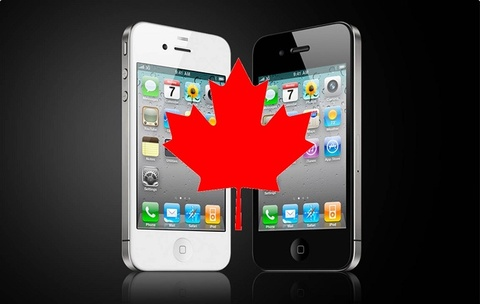 iphone o canada hinh anh