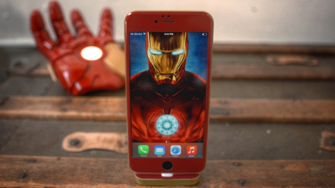 iphone 6 iron man hinh anh
