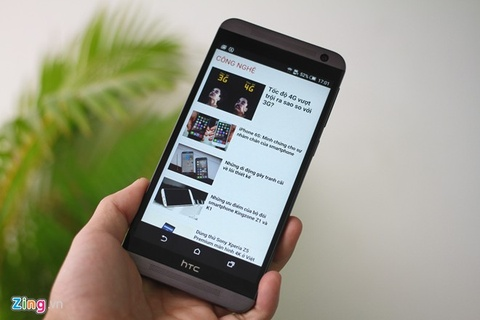 Dung thu HTC One E9 Dual SIM vua ban o Viet Nam hinh anh