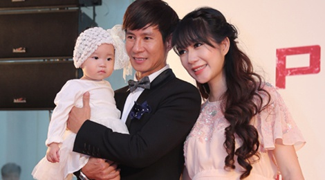 Gia dinh Ly Hai, Minh Ha di ra mat phim hinh anh