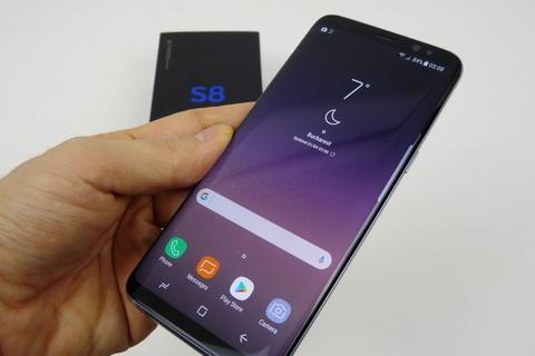 Rao ban Galaxy S8 'chom' tu nha may Samsung Thai Nguyen hinh anh