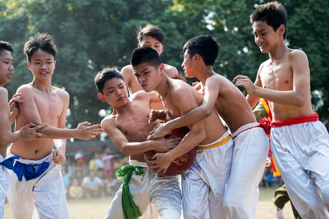 Anh the thao cua giam khao 'Song cung World Cup' Hai Thinh hinh anh 17