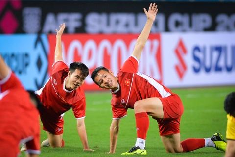 Đội tuyển Việt Nam làm quen sân Mỹ Đình trước khi gặp Malaysia