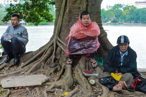 Phố phường Hà Nội trong ngày lạnh 19 độ C