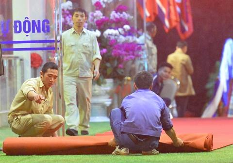 Ga Dong Dang truoc gio tien ong Kim Jong Un ve nuoc hinh anh 5