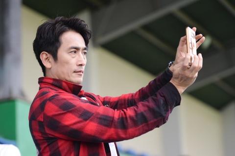 Nguoi hung World Cup 2002 gap lai HLV Park Hang-seo tai Ha Noi hinh anh 6