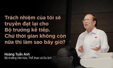 10 phat ngon an tuong tai Quoc hoi hinh anh 1 Chiều 17/11, phòng Diên Hồng rộ tiếng cười khi Bộ trưởng Hoàng Tuấn Anh trả lời chất vấn. Nhiều đại biểu không nhịn được cười mỗi khi