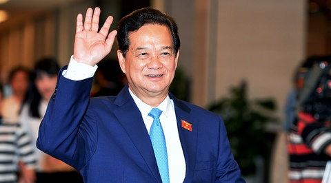 Ong Nguyen Tan Dung thoi chuc Thu tuong hinh anh