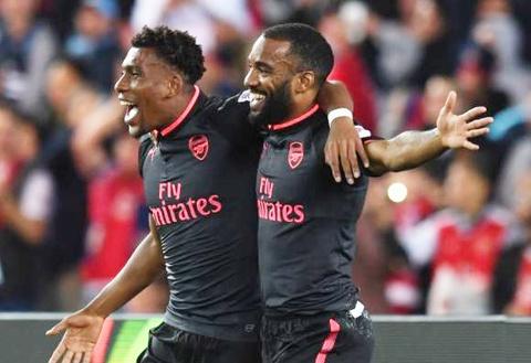 Tan binh dat nhat lich su Arsenal ghi ban ngay tran ra mat hinh anh