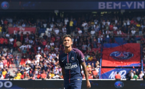 CDV PSG goi vang ten Neymar hinh anh