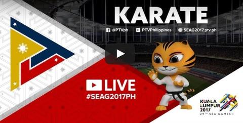 Truc tiep cac tran chung ket karatedo SEA Games ngay 23/8 hinh anh