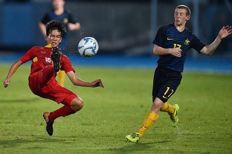 U16 Viet Nam vs U16 Australia (1-3): That bai tam phuc khau phuc hinh anh