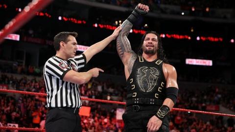 Roman Reigns danh bai huyen thoai John Cena tai No Mercy hinh anh
