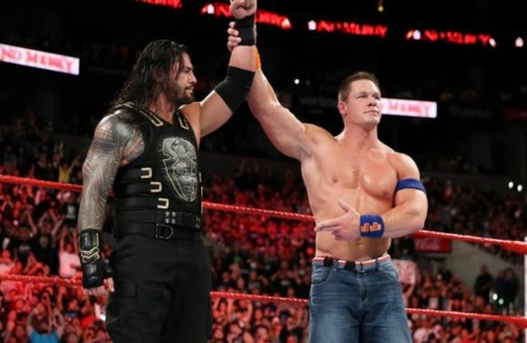 Huyen thoai WWE John Cena giai nghe sau tran thua hinh anh