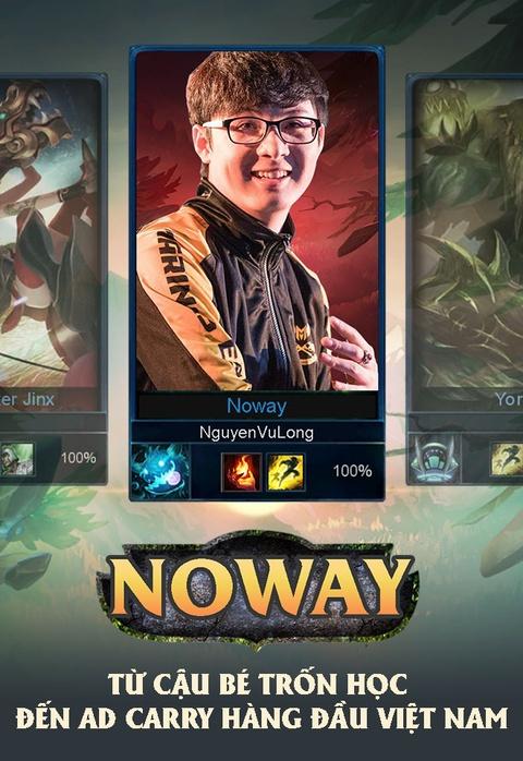 Noway: Tu cau be tron hoc den AD Carry hang dau Viet Nam hinh anh 1