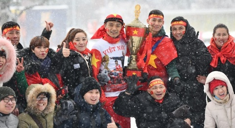 Chung ket U23 chau A: CDV Viet Nam soi dong truoc gio 'G' hinh anh