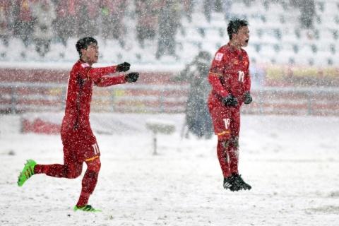 Tran 'dai chien tren tuyet' giua U23 Viet Nam va U23 Uzbekistan hinh anh 12