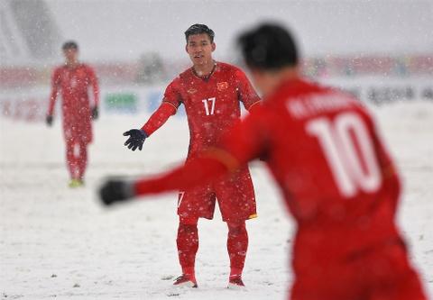 Tran 'dai chien tren tuyet' giua U23 Viet Nam va U23 Uzbekistan hinh anh 9