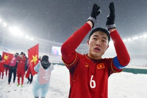 Tran 'dai chien tren tuyet' giua U23 Viet Nam va U23 Uzbekistan hinh anh 18