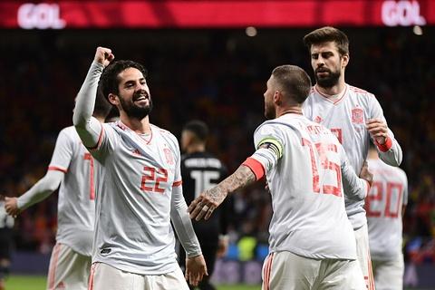 Highlights Tay Ban Nha 6-1 Argentina hinh anh