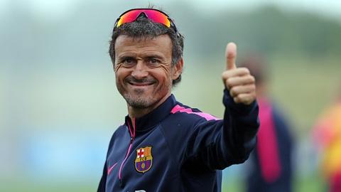 Dam phan voi Arsenal, Luis Enrique san sang thay Wenger hinh anh