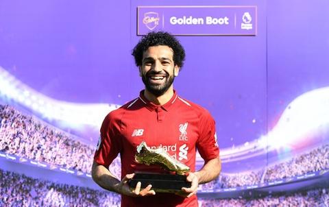Vuot Ronaldo, Salah thiet lap ky luc ghi ban moi tai giai Ngoai hang hinh anh