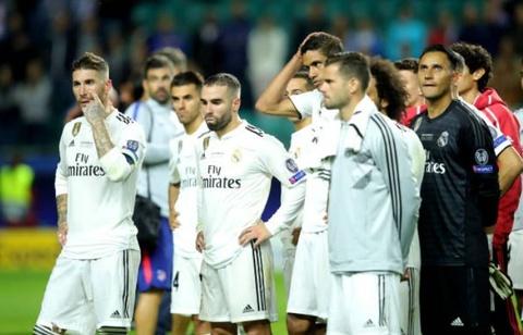 Real Madrid thua Atletico 2-4: Khong con Ronaldo, khong chien thang hinh anh